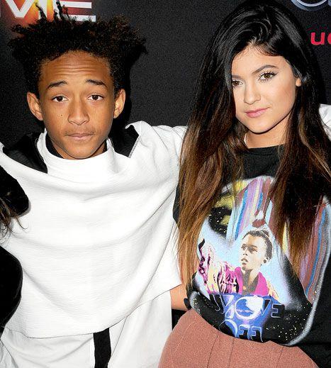 Kylie Jenner, Boyfriend Jaden Smith Hug on Red Carpet at Premiere - Us Weekly