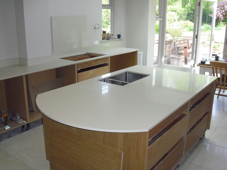 17 best images about awesome kitchen islands on pinterest for Kitchen island with rounded end