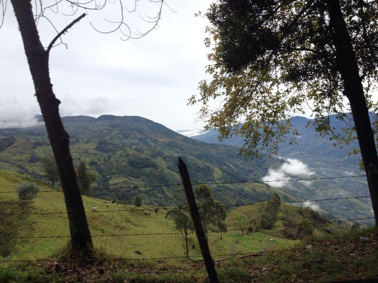 Montañas colombia