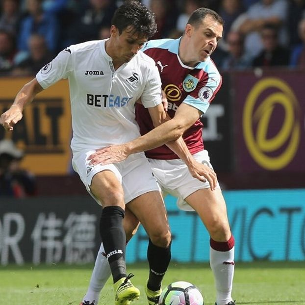 Jack #Cork #Swansea contro Dean #Marney #Burnley