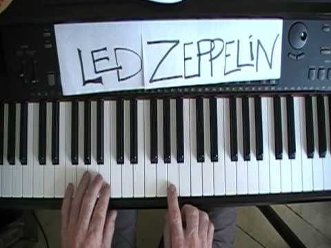 How To Play Led Zeppelin Kashmir on Piano  this guys amazing