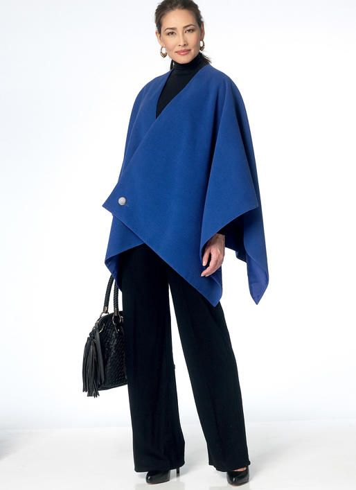 19 best Capes & Ponchos EASY TO SEW images on Pinterest | Cape ...