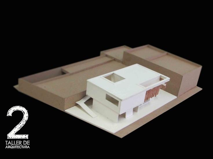 Alumno_Felipe_Leaño__maqueta_de_Proyecto_final_ejercicio_academico_facultad_de_arquitectura_Taller_2_Universidad_Piloto_de_Colombia_semestre_I_2011_