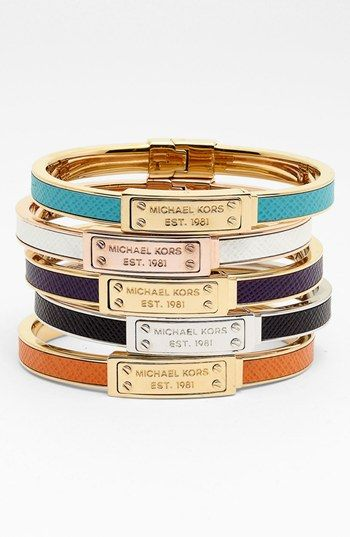 $62 Michael Kors Hinged Bangle (Nordstrom Exclusive) available at #Nordstrom