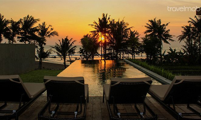 New 3 BR Absolute Beachfront Villa  in Canggu, Bali, Indonesia
