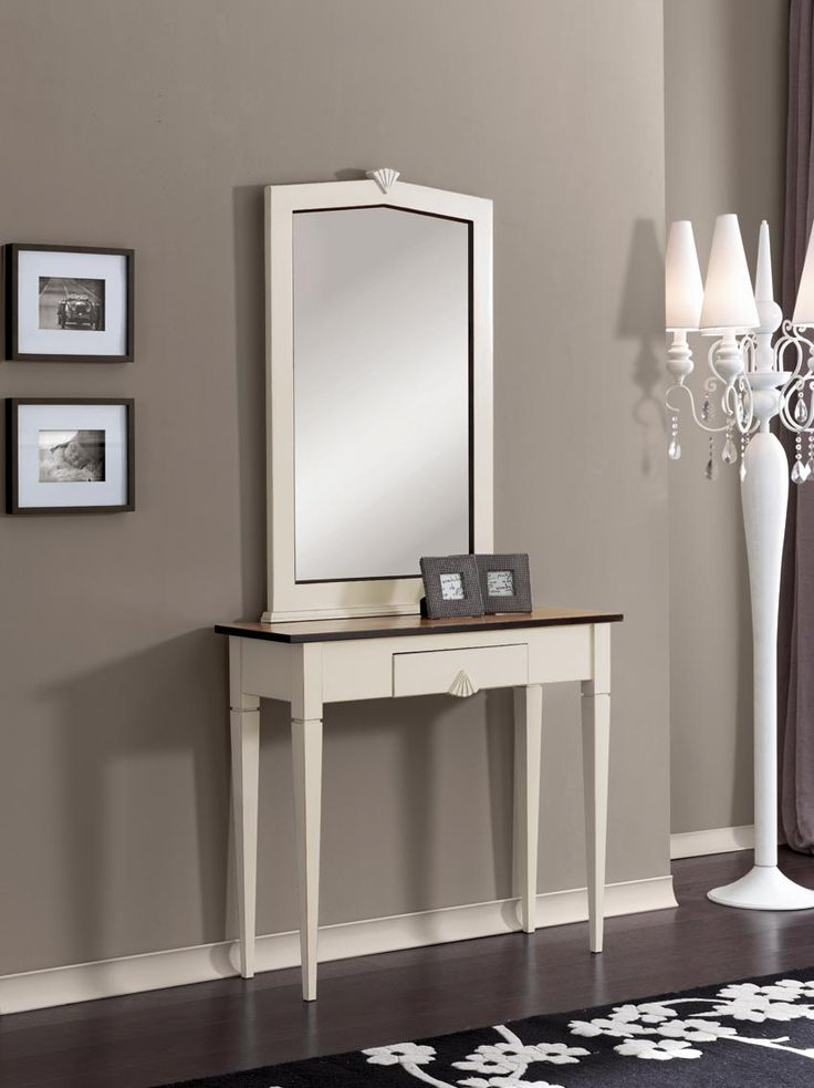 Console table and mirror from  Zanini Collection