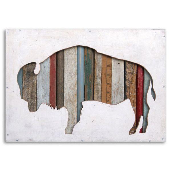 American Bison Silhouette Custom Buffalo Art | Dolan Geiman