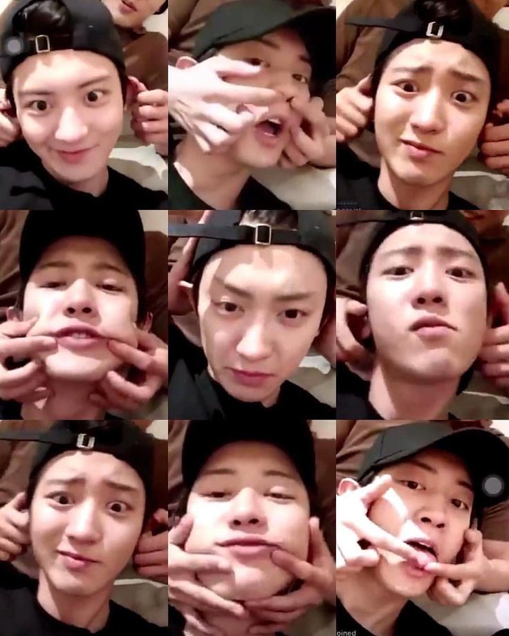 Kai's hands and Chanyeol's face makes a great pair!