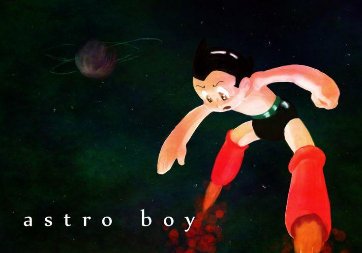 Astro Boy Painting by animatrix1490