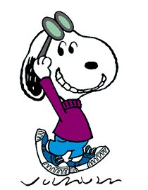 Snoopy - Hi there! (smaller)