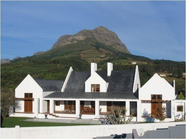 Cape Dutch style house