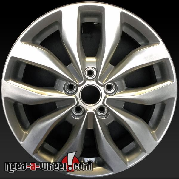 "2014-2015 Kia Optima OEM wheels for sale. 17"" Silver stock rims 74690 #17, #529102T370, #74690, #Kia, #Optima, #Silver http://www.need-a-wheel.com/rim-shop/17-kia-optima-oem-wheels-for-sale-silver-74690/"