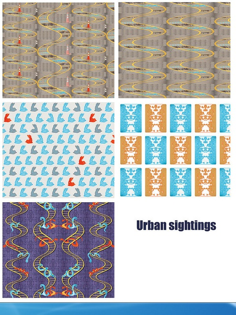 Urban Sightings designs @Spoonflower  http://www.spoonflower.com/collections/12862