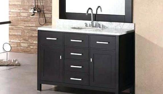 Vanities Depot 42 Inch Bathroom Vanity Bathroom Vanity Cabinets Black Cabinets Bathroom