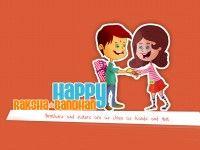 Brother sister happy rakshabandhan