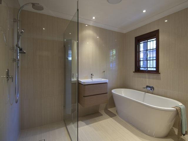 Tiles, Vanity, Shower outlet