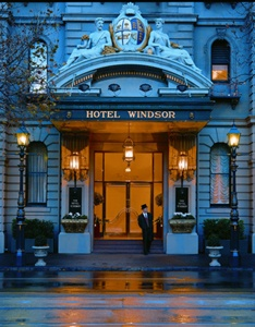 The Hotel Windsor Melbourne Vic Australia