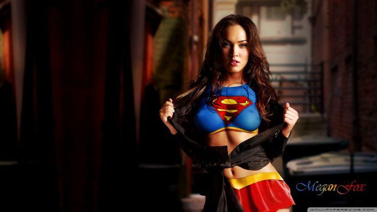 Megan Fox 2013 Superman HD Wallpaper