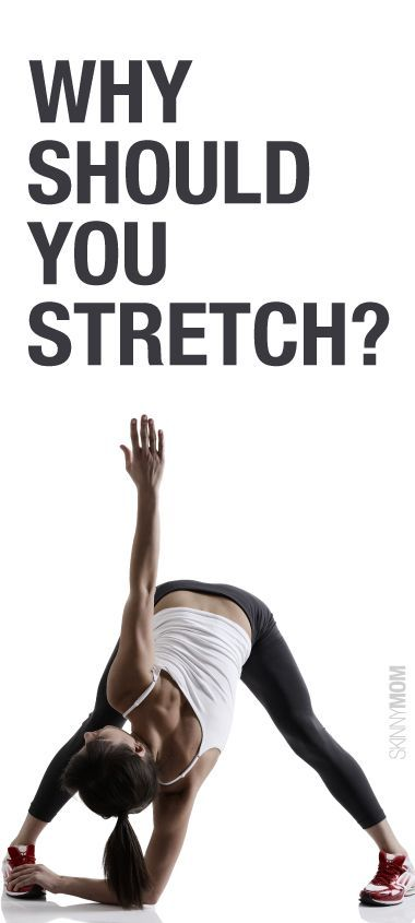 Great benefits to stretching.