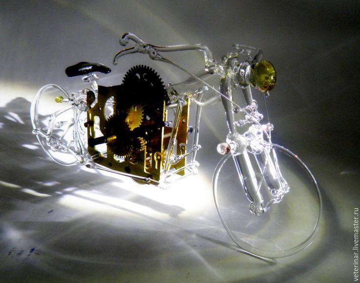 """Купить Мотоцикл""""Foxtrot Uniform"""" - разноцветный, мотоцикл, мото, мотоциклист, модель, транспорт, мужской подарок, мужской"""