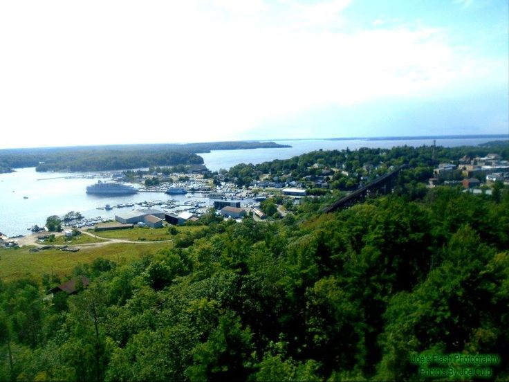 Picturesque View of Parry Sound as seen from the Observation Tower August 6, 2017