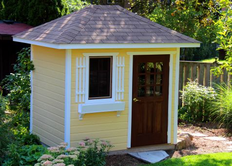 High Quality Small 6x8 Sonoma Backyard Shed In Madison, Wisconsin