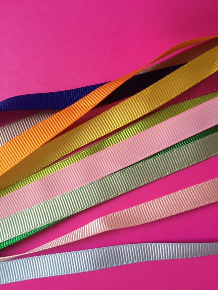 Coloured ribbons to add to our wallet style wedding invites...