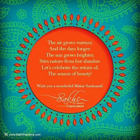 Wish you a wonderful Sankranthi & Pongal from all of us at SakhiFashions  #happysankranthi #happypongal #happytoserve