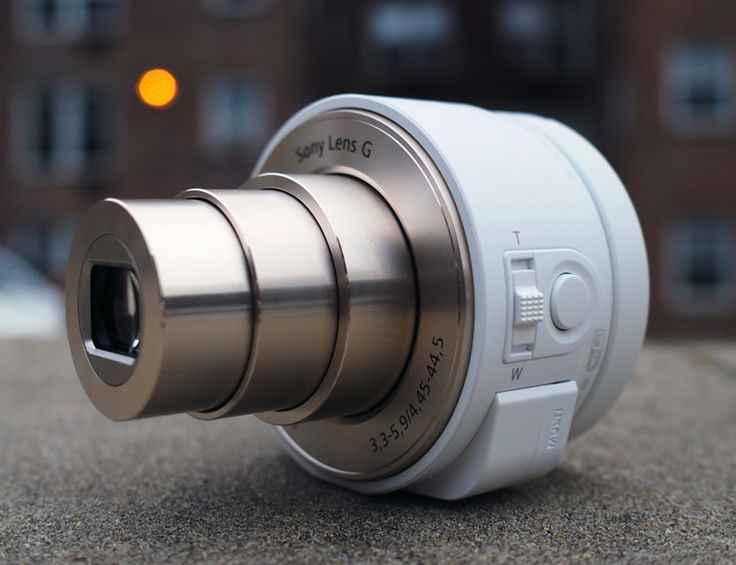 Sony Attachable Zoom Lens For Smartphones