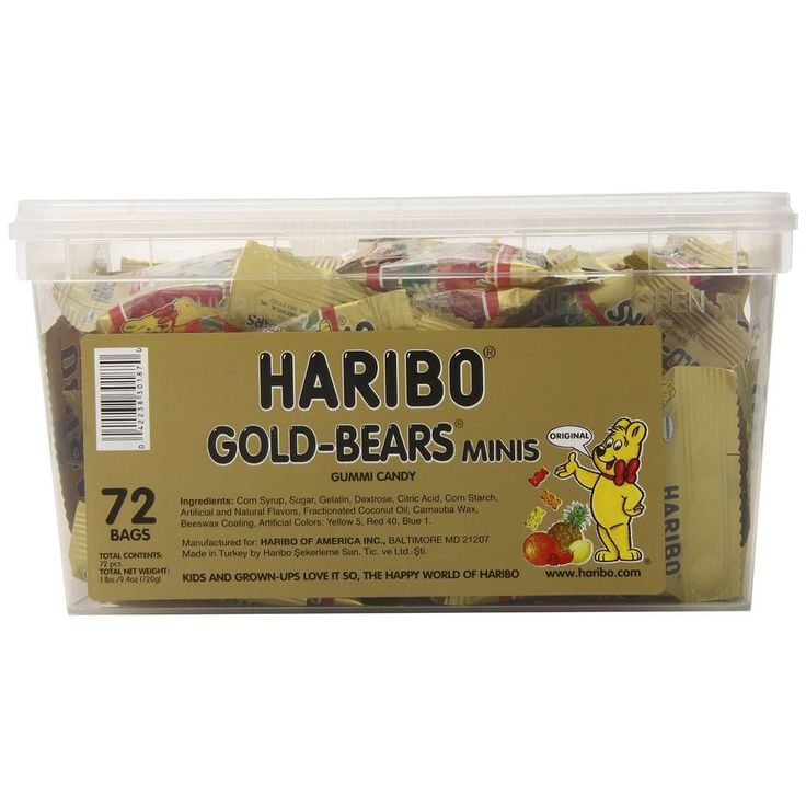 Haribo Gold-Bears Minis, 72-Count, Free Shipping, New #Haribo
