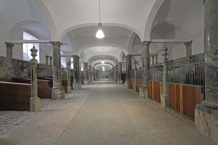 44 Barn Aisles That Will Take Your Breath Away    The Royal Stables at Christiansborg Castle (Copenhagen, Denmark)