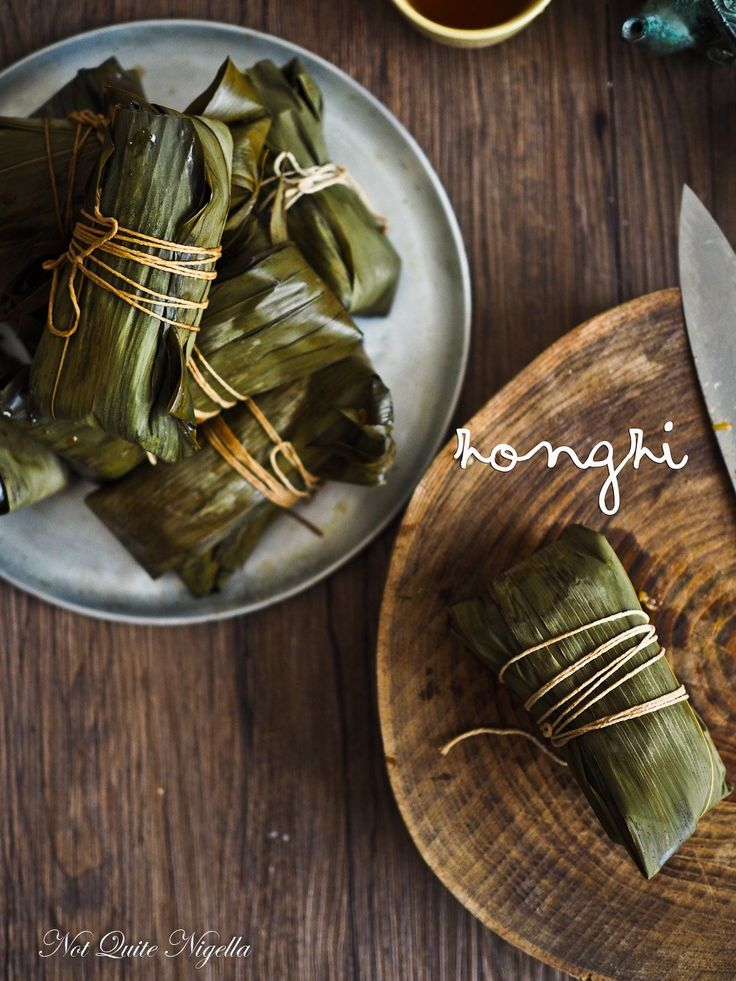 Reclaiming Family Flavours: Zongzi Chinese Bamboo Leaf Dumplings