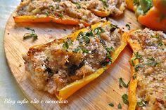 peperoni e tonno-ricetta facile e veloce