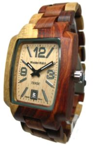 Buy Tense Wooden Watches from http://woodenwatchesguide.com/