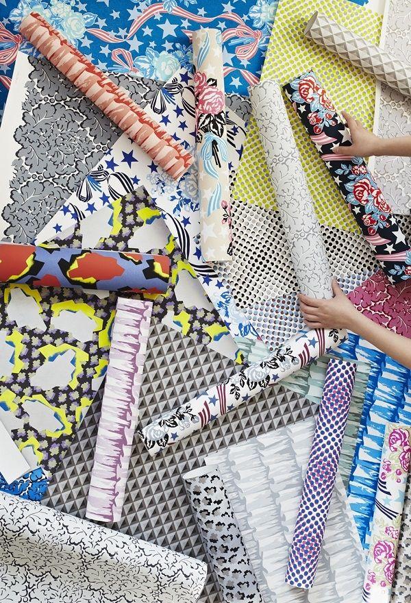 The Eley Kishimoto Hand Printed Wallpaper Collection — Heart Home