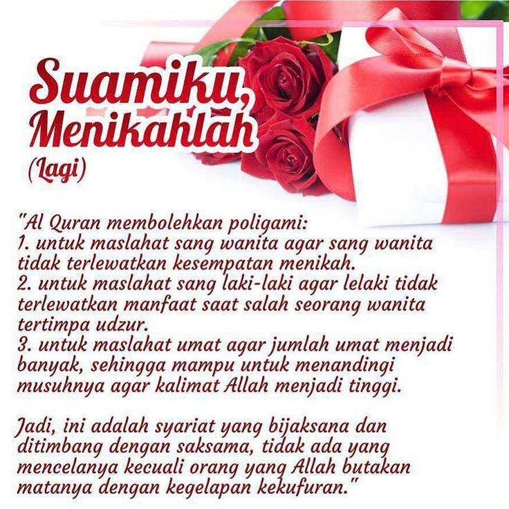 http://nasihatsahabat.com #nasihatsahabat #mutiarasunnah #motivasiIslami #petuahulama #hadist #hadits #nasihatulama #fatwaulama #akhlak #akhlaq #sunnah  #aqidah #akidah #salafiyah #Muslimah #adabIslami #DakwahSalaf # #ManhajSalaf #Alhaq #Kajiansalaf  #dakwahsunnah #Islam #ahlussunnah  #sunnah #tauhid #dakwahtauhid #alquran #kajiansunnah #keutamaan #fadhilah #suamiku #istri #menikah #nikah #poligami #Alasanbolehberpoligami #tujuan Muslimah-Alasan-Alquran-Bolehkan-Poligami-Nikah-Lagi