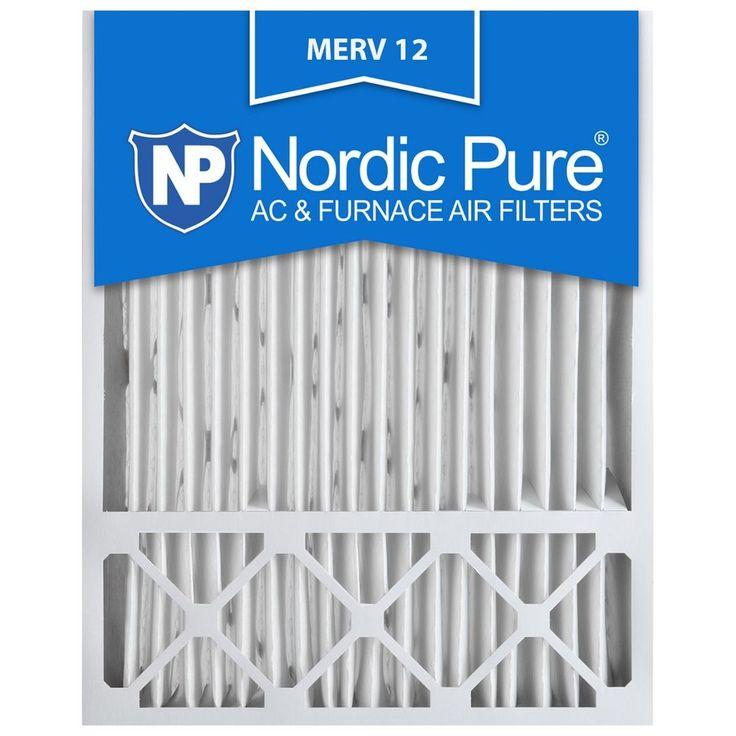 Details about 20x25x5 4 air filter furnace merv 12 13 11