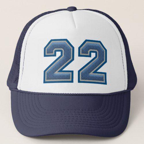 Number 22 Varsity Trucker Hat