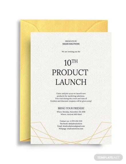 Formal Business Invitation Invitation Templates Designs 2019