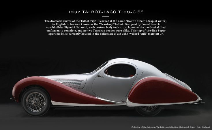 ART-DECO DRIVES | The Report | The Journal|MR PORTER 1937 Talbot - Lago Ti50-C SS