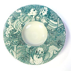 Bjørn Wiinblad Plate, $122, now featured on Fab.