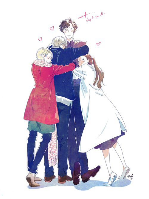 The ones that love him the most... ^u^