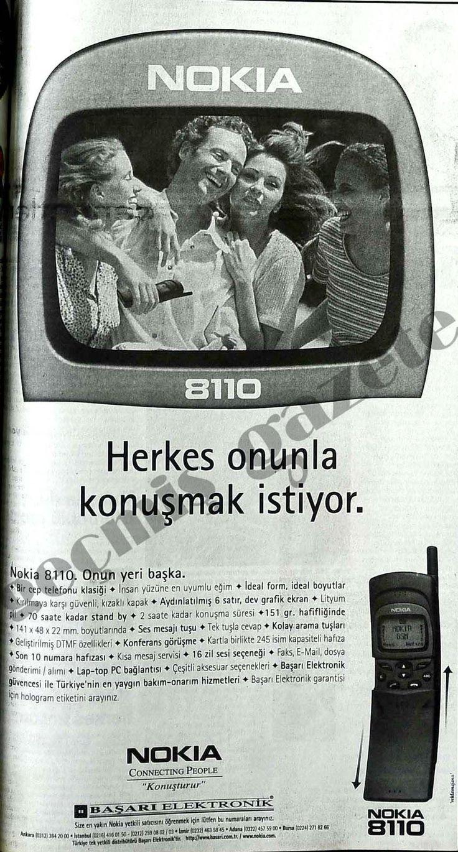 ''Herkes onunla konuşmak istiyor'' (1997, Cep Telefonu Reklamı, Nokia)#nostalji #istanbul #CepTelefonu  #istanlook