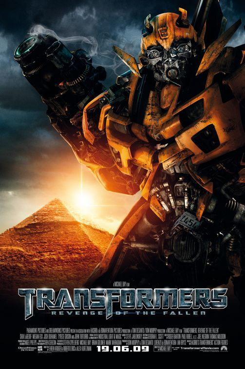 Transformers Revenge of the Fallen Movie Poster by BLT Communications, LLC (2009)