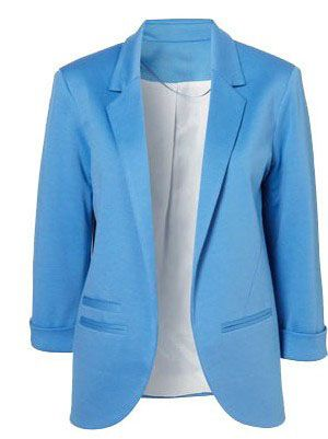 Shop Blue Boyfriend Ponte Rolled Sleeves Blazer online. SheIn offers Blue Boyfriend Ponte Rolled Sleeves Blazer & more to fit your fashionable needs.