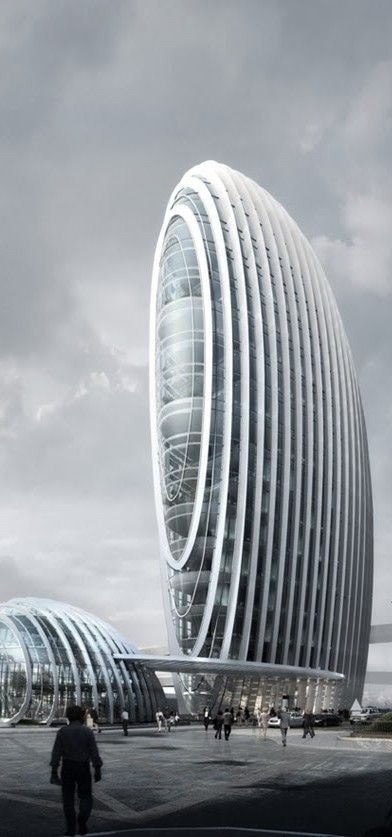 Taipei Nangang Office Tower, Taipei, Taiwan, China designed by Aedas bodegas