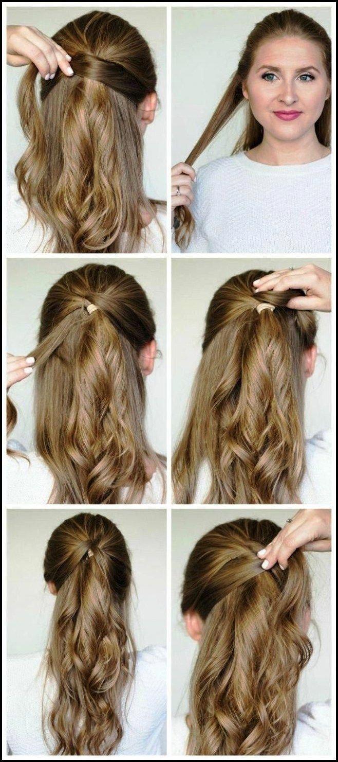 Schöne Schritt für Schritt einfache Frisuren