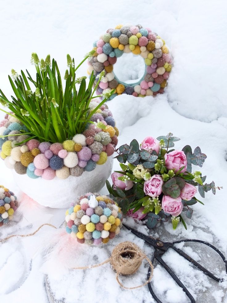 colorful easter by Fleur