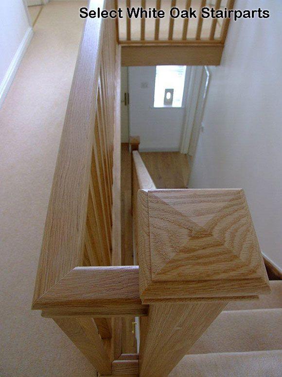 White Oak Banister White Oak Ungrooved Handrails