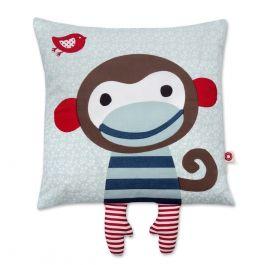 Einer unsere Bestseller ist das kleine Äffchen Kissen - ideal als Kinderzimmerdeko und zum Kuschelnd - natürlich aus zertifizierter Bio-Baumwolle :-)